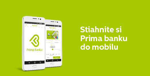 Internet banking - Primabanka