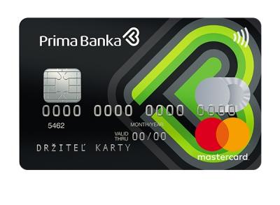 Platobná karta MasterCard Standard