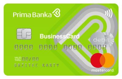 Platobná karta MasterCard Green